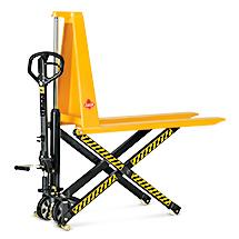 Ręczny wózek nożycowy Ameise z dyszlem Premium. Udźwig 1000 kg