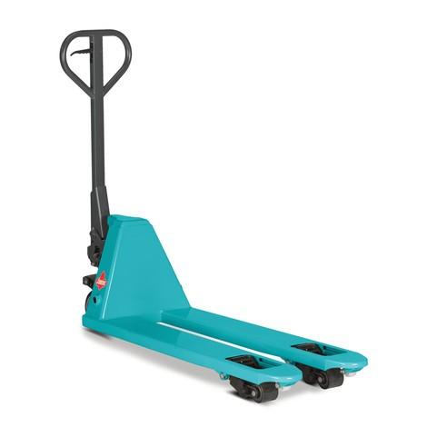 Ręczny wózek paletowy Ameise® PTM 2.0 bardzo wąski, długość wideł 1150 mm