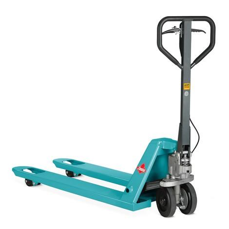 Ręczny wózek paletowy Ameise® PTM 2.5 z hamulcem ręcznym