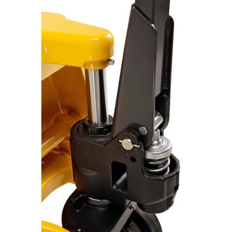 Ręczny wózek paletowy Ameise®, udźwig 2500 kg, długość wideł 1150 mm