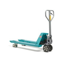 Ręczny wózek paletowy Ameise®. Wersja silent. Udźwig 2000 kg. Długość wideł 1150 mm.