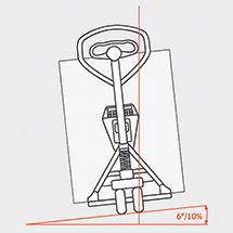 Ręczny wózek paletowy Ameise® z wagą SOEHNLE. Podziałka 1 kg. Udźwig 2000 kg.