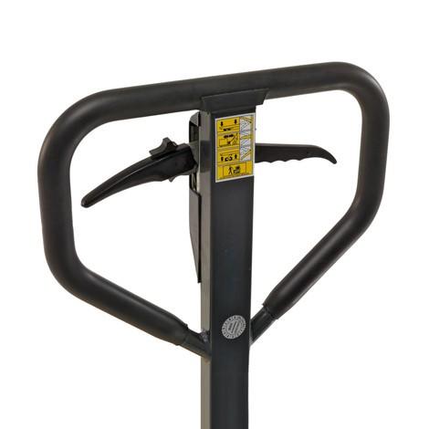 Ręczny wózek paletowy Ameise® zhamulcem