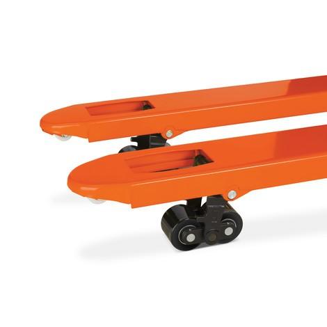 Ręczny wózek paletowy BASIC, długość wideł 1150 mm