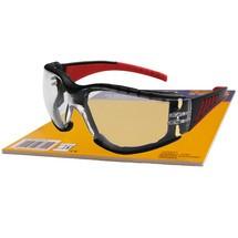 Red Vision Schutzbrille, schwarz/roter Rahmen