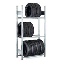 Regál na pneumatiky SCHULTE, základní pole