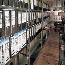 Regalsystem für Lagercontainer