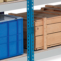 Regalverbinder für Weitspannregal Stecksystem Ameise ® Universal 600