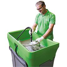 Reinigungstisch BIO-CIRCLE PROFI