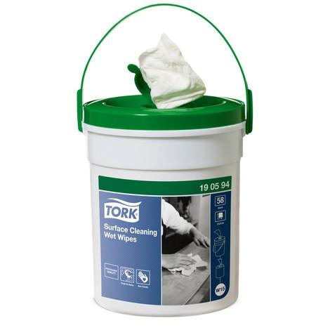 Reinigungstücher TORK® im Spendereimer