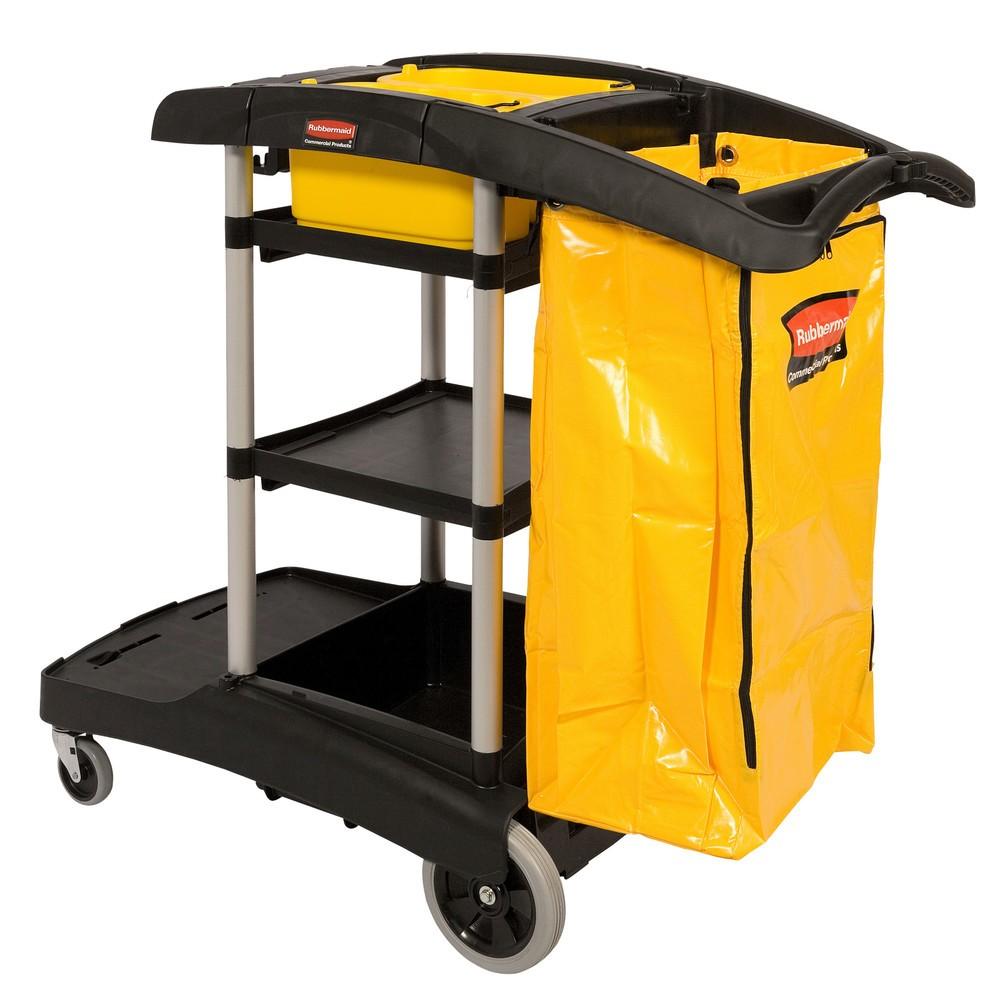 Rengøring Trolley Rubbermaid® høj kapacitet