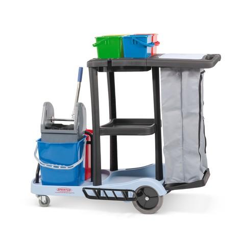 Reinigungswagen-Set Professionell