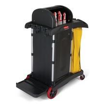Rengöringsvagn Rubbermaid HYGEN™, hög säkerhet
