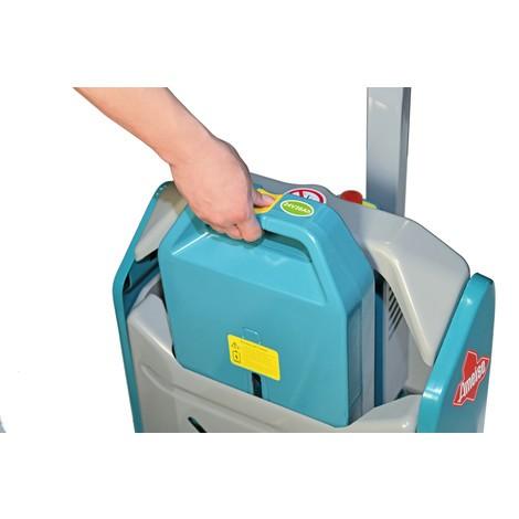 Reservbatteri för elektrisk pallyftare Ameise® PTE 1.5 - litiumjon, lastkapacitet 1 500 kg