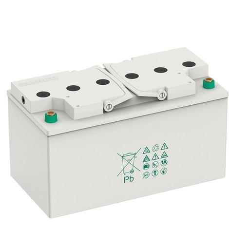 Reservbatteripaket 2 st. 12V/60Ah för den mobila arbetsplatsen Jungheinrich