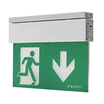 Rettungszeichen LED-Wandleuchte Premium