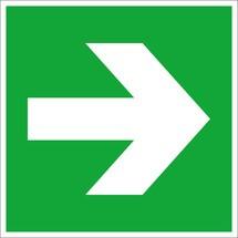 Rettungszeichen – Pfeil links/rechts