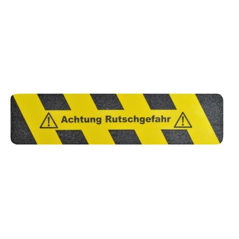 Revêtement antidérapant m2™ «Attention risque de dérapage»