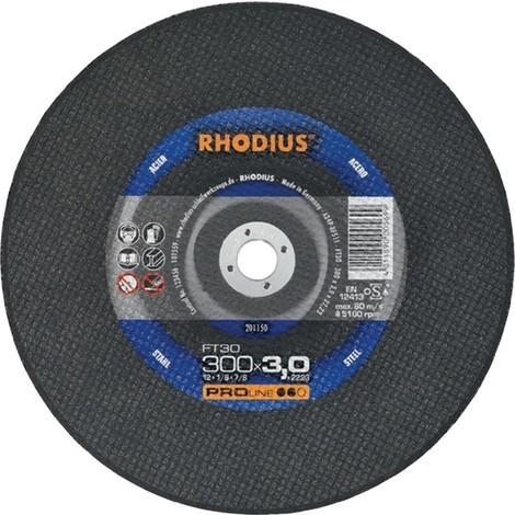 RHODIUS Trennscheibe FT30