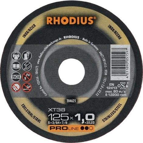 RHODIUS Trennscheibe XT38