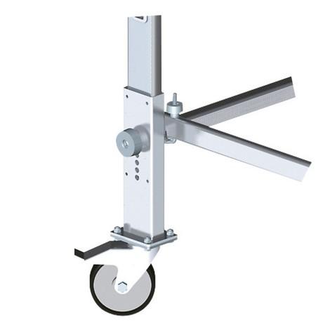 Rijwielenset voor aluminium steiger Hailo ProfiStep® multi