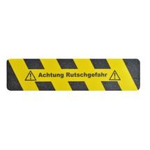 """Rivestimento antiscivolo m2™ """"Attenzione pericolo di scivolamento"""""""