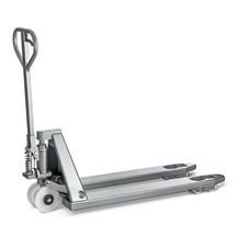 Roestvrijstalen handpalletwagen INOX