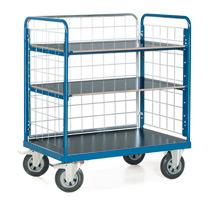 Rollbehälter. 3 Wände + 3-4 Holzböden. Höhe 1,20/1,80m, Tragkraft 600kg