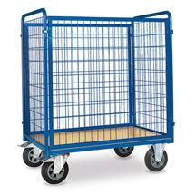 Rollbehälter. 4 Wänden + Holzboden. Höhe 1,20 / 1,80m, Tragkraft 600kg