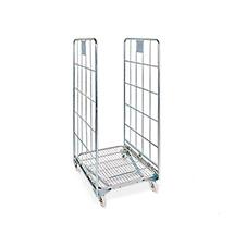 Rollbehälter BASIC nestbar, H x B x T mm 1665 x 700 x 800, Wahlweise 2-seitig, 3-seitig oder 4-seitig