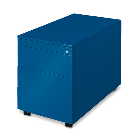 Rollcontainer, H x B x T 570 x 430 x 600 mm, 1 Schublade