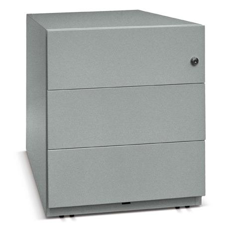Rollcontainer Note mit 3 Univesalschubladen HxBxT 495x420x565 mm
