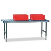 Rollenbaantafel zonder werkblad voor paktafelsysteem
