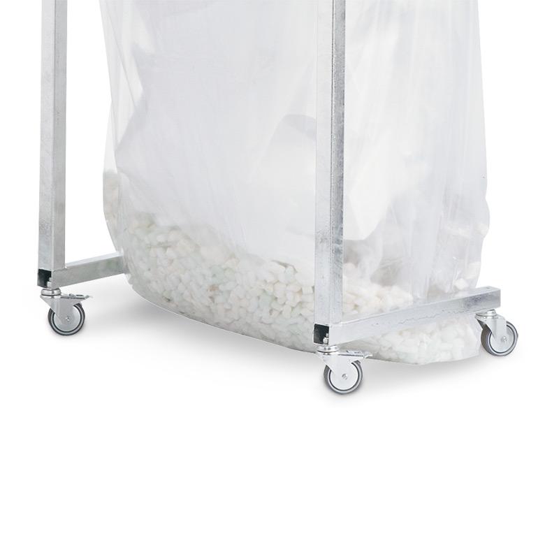 Rollensatz aus Gummi für Großvolumen-Wertstoffsammler