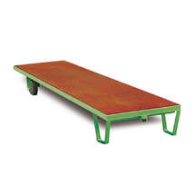 Rollplatten extra lang. Tragkraft bis 3000 kg, Länge bis 4 m