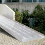Rollstuhlrampe. Tragkraft 400kg, Länge bis 4m, Höhe bis 77cm