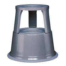 Rolltritt aus robustem Stahlblech