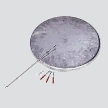 Ronde bodem voor staande asbak VAR® CLASSIC