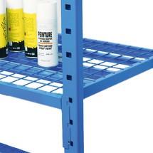 Roosterbodem legbord voor legbordstelling inhaaksysteem, cap. tot 500 kg