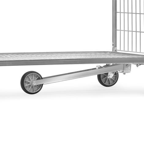 Roue de guidage en TPE pour chariot de préparation des commandes de fetra®