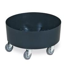 Rouleau de transport pour tonnes rondes jusqu'à 100 litres