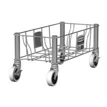 Rouleur de transport pour collecteur de matériaux Rubbermaid Slim Jim®