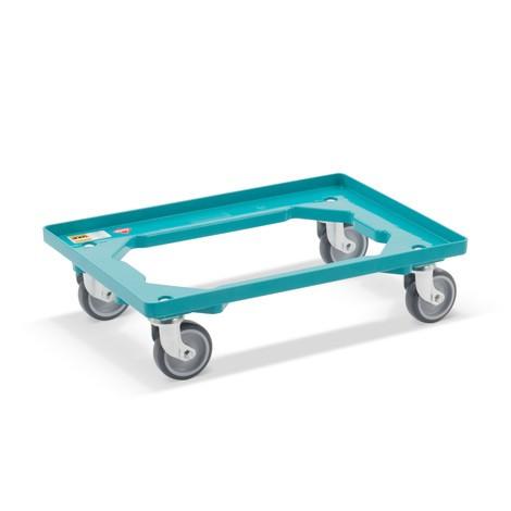 Rouleur pour bacs Euro Ameise®, châssis en plastique, 2pièces/unité de vente