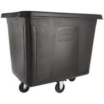 Rubbermaid® Cube Truck - Contenedor de rodillos (0,2 m³/200 l/136,1 kg)