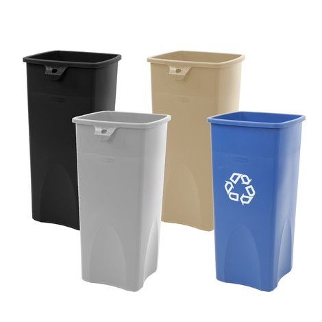 Rubbermaid® large recyclable waste container, 87 litres