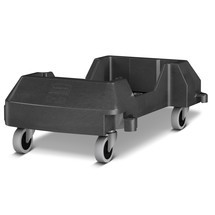 Rubbermaid Slim Jim® carro de transporte contenedor de reciclaje ley