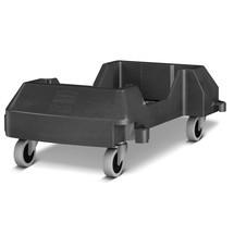 Rubbermaid Slim Jim® wózek transportowy pojemnik na surowce wtórne ley