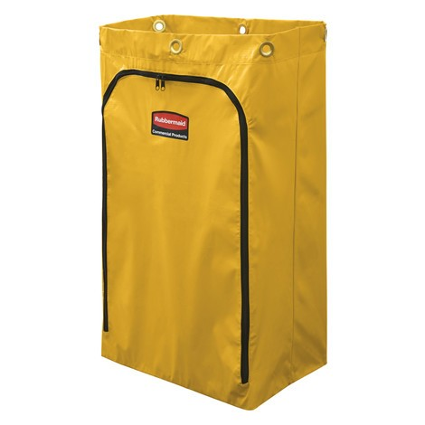 Rubbermaid® Vinyl vervangende tas voor het reinigen van trolley en Caretaker Trolley