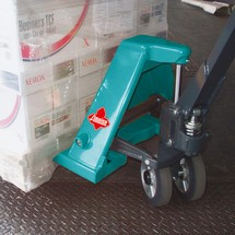 Ruční paletový vozík Ameise® skrátkými vidlemi