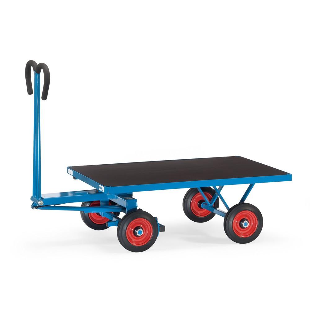 Ruční vozík s platformou fetra® bez zdí